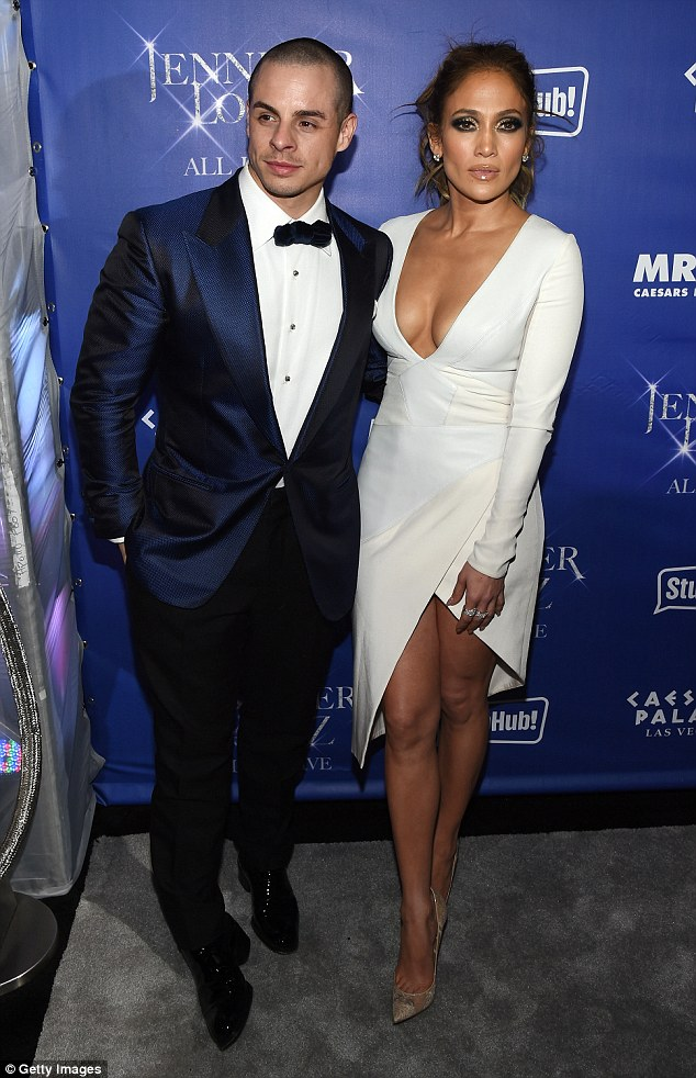 Boys will be boys: It subsequently emerged that JLo had pulled the trigger because her toyboy of five years had opted against attending a charity event with her in The Hamptons, heading to a UFC fight instead