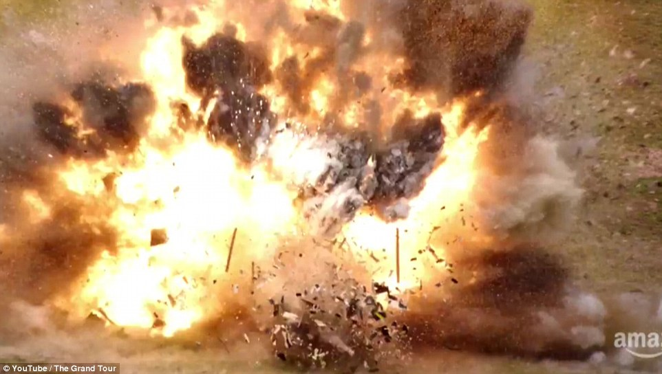 The tank then causes a huge explosion which was shown during the tense and dramatic 94-second official trailer