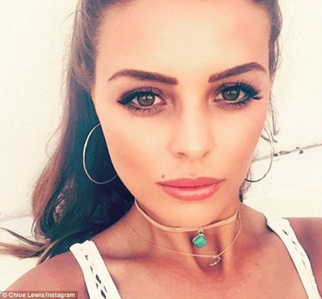 Troubled:Jake and Chloe entered the ITVBe show last year as a couple, with Jake leaving after three seasons due to the tumultuous state of his now-defunct seven-year romance