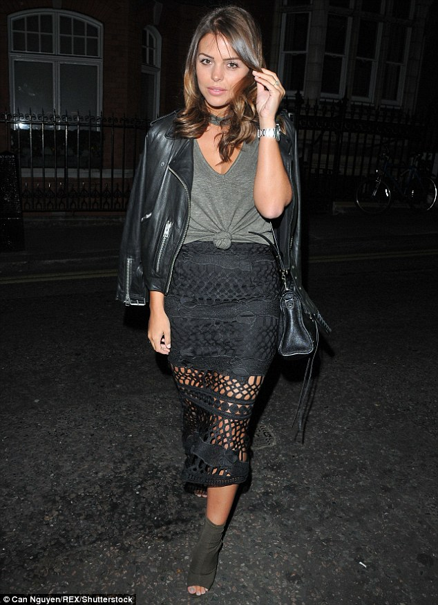 Moving on: Chloe looked stunning as she attended The Art Of Love book launch party in London on Thursday night hours before the news of Jake's new romance broke