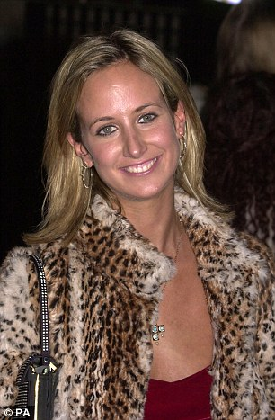 Lady Victoria Hervey pictured in 2001 aged 25