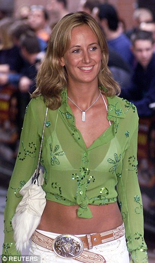 Lady Victoria Hervey at the premiere of Blow in London in 2001