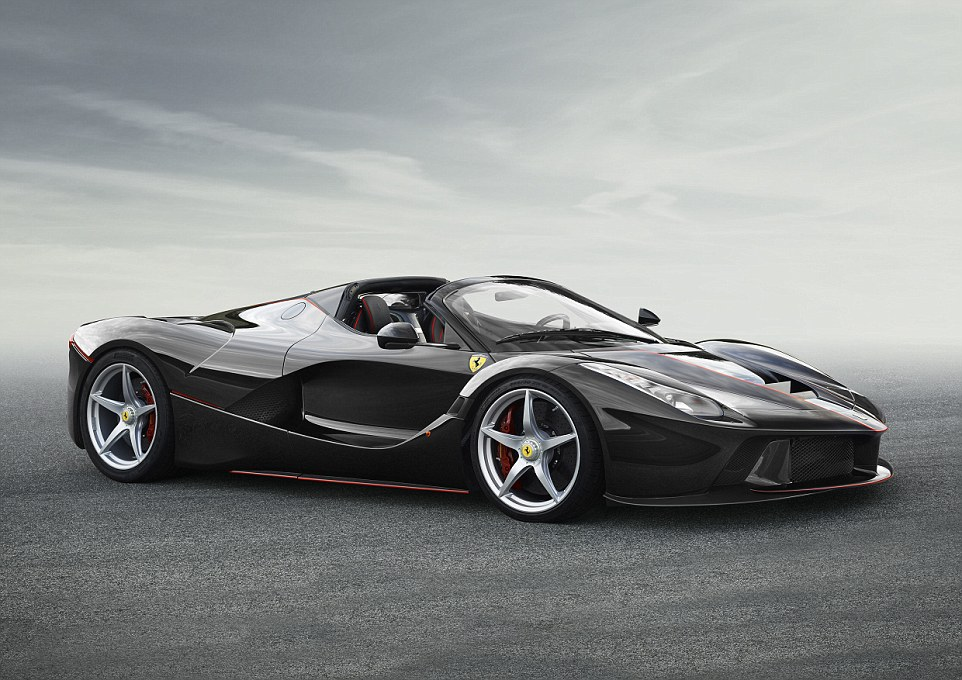 Open for business, but you can't have one: Just 209 LaFerrari Apertas will be built and Ferrari has already sourced all 209 buyers