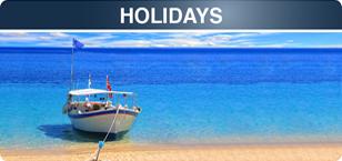 Mail travel holidays