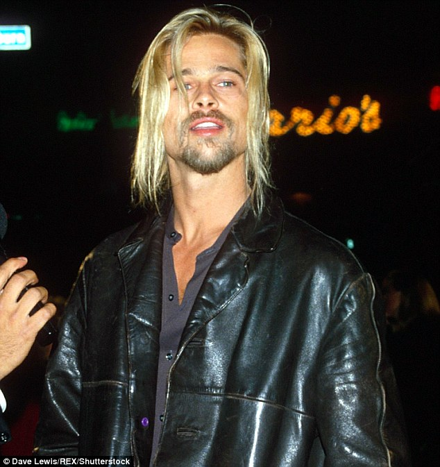 He fought the pinup image: Pitt at the premiere of Interview With The Vampire in 1994