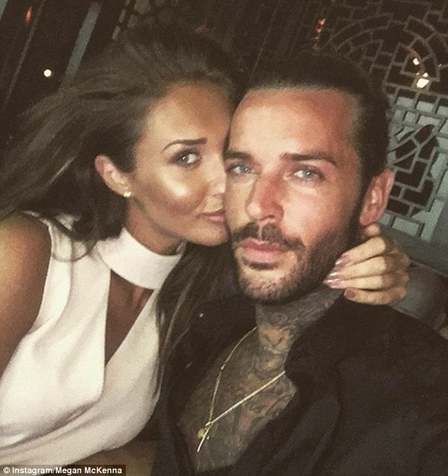 Bad to worse: The claims come just days after Megan's boyfriend reportedly sent highly explicit text messages to his ex-girlfriend Jacqui Ryland