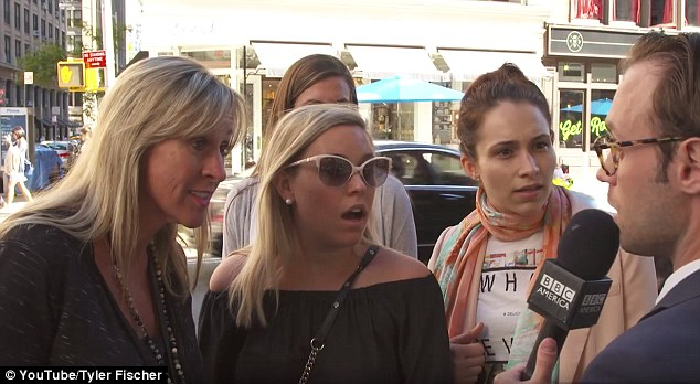 'Zika?' These women could not believe Tyler's fake claim that Hillary had dropped out