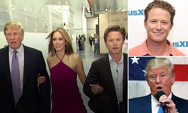 Trump recorded in lewd hot mic chat with Billy Bush in 2005