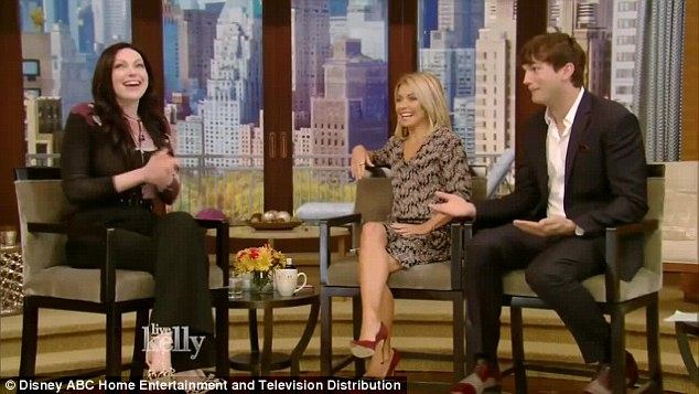 Left out in the cold: The actor, 38, berated his That 70s Show co-star for not telling him she had gotten engaged leaving him to find out from media reports