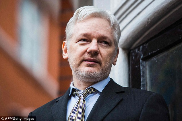 WikiLeaks founder Julian Assange (pictured in 2016) promised 'significant' disclosures on subjects including the U.S. election and Google in the coming weeks as the secret-spilling group marked its 10th anniversary on Tuesda