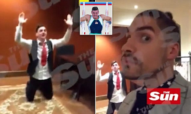 Team GB Olympic gymnast Louis Smith films himself on video 'mocking Islam'