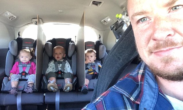 Ohio dad of triplets comes up with 'genius' hack to stop backseat infighting