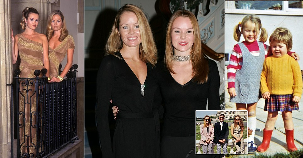 Amanda Holden rushes to sister's bedside who is fighting for life after car crash