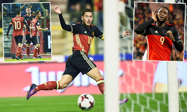 Belgium 4-0 Bosnia: Eden Hazard, Romelu Lukaku and Toby Alderweireld get The Red Devils