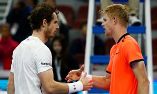 Andy Murray wins 7-6, 6-2 in British battle against training partner Kyle Edmund in China
