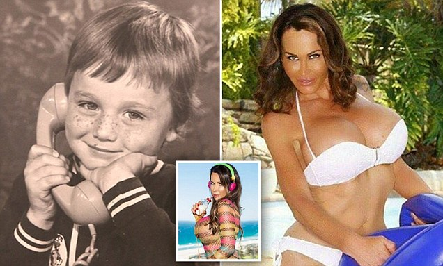 Transgender erotic model Kelly Star claims the largest breast implants in Australia