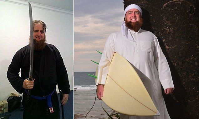 Muslim leader Imam Zainadine Johnson lives a very Australian lifestyle