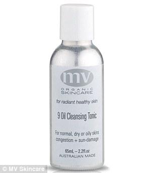 MV Organic Skincare 9 Oil Cleansing Tonic ($90, mvskincare.com)