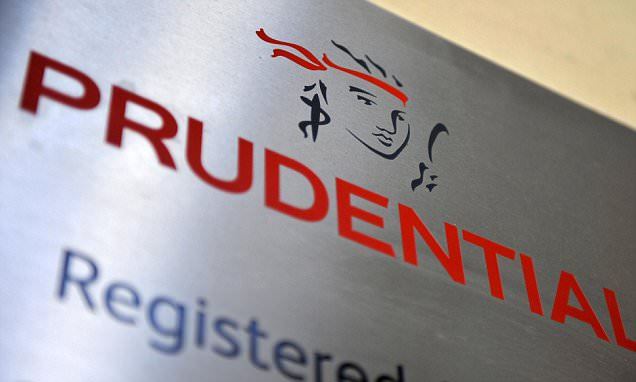 Prudential stalls savers using pension freedom cash to clear debts