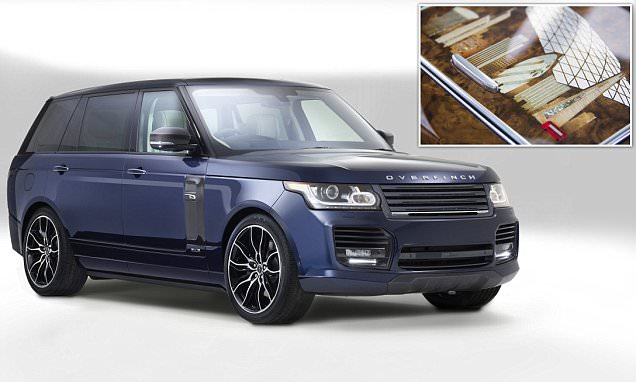 The London Edition £250k Overfinch Range Rover emblazoned with landmarks