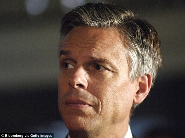 Former Utah Gov. Jon Huntsman was another to call for Trump to step aside, saying the campaign has become a 'race to the bottom'