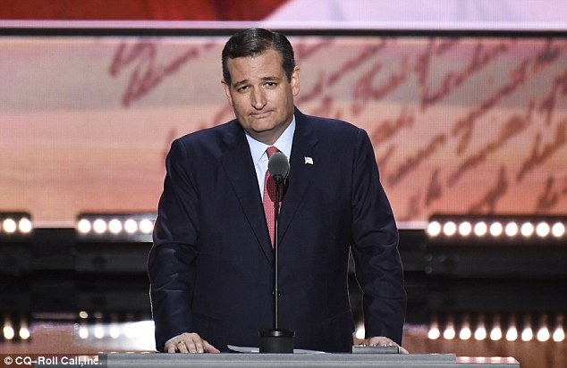 Ted Cruz, another hopeful who lost the GOP nomination to Trump, said the comments were 'disturbing and inappropriate'