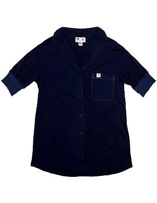 Cozy and charitable: Short sleeve pajama top, $72, shopravenandcrow.com