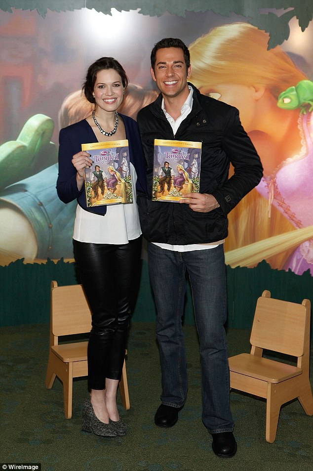 Reunited: Tangled: Before Ever After sees Mandy Moore and Zachary Levi reprise their roles, and will premiere on the Disney Channel in 2017