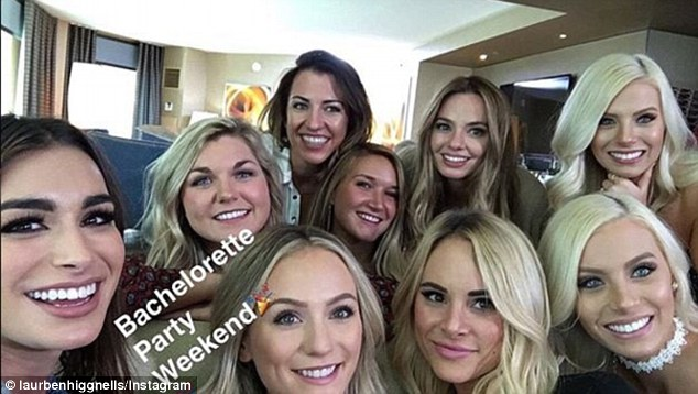 Just the start: On Friday morning there was likely a lot of sore heads but the group still have a whole weekend of partying ahead of them
