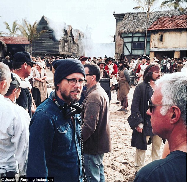 The Norwegian filmmaker, pictured on the Queensland Gold Coast set of Dead Men Tell No Tales, co-directed the fifth installment of the Disney franchise with Espen Sandberg