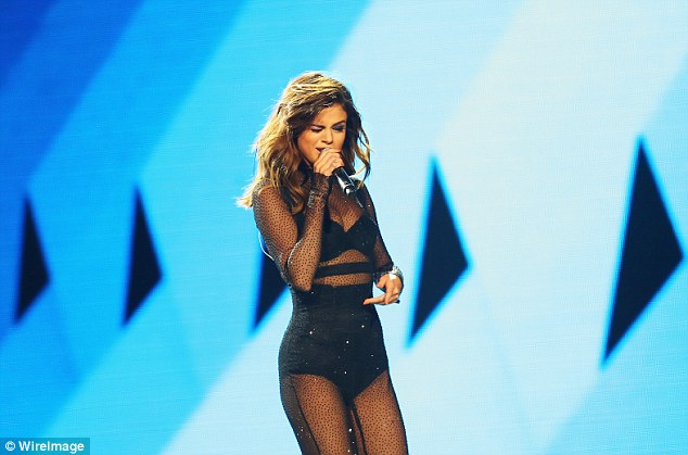 People love her: The Younger actress said Selena's 'saving grace' was her mazing musical talent (pictured August)