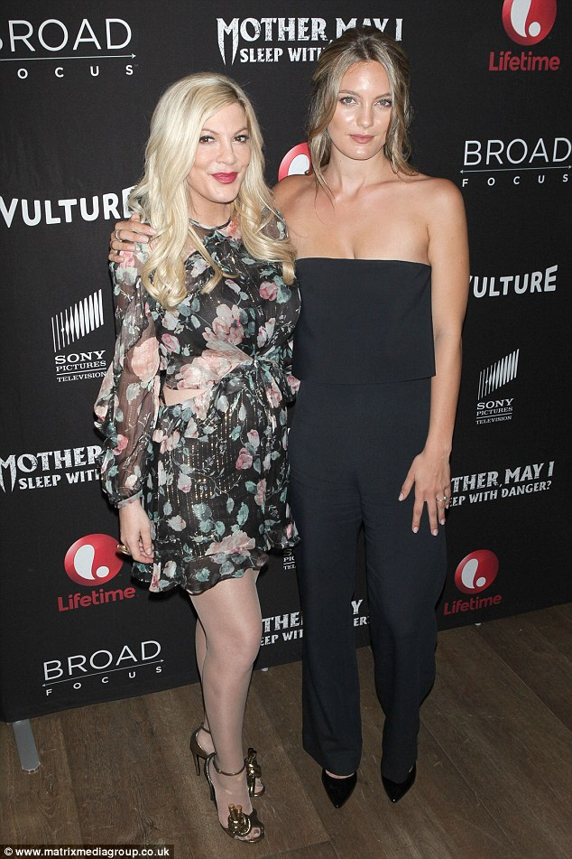 Hollywood: The skilled star recently made the move from stage to screen in the Tori Spelling Lifetime TV movie 'Mother, May I Sleep With Danger?'