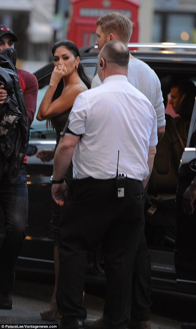 Tough times:In July, Calvin and Nicole sparked dating rumours after a night at a London club