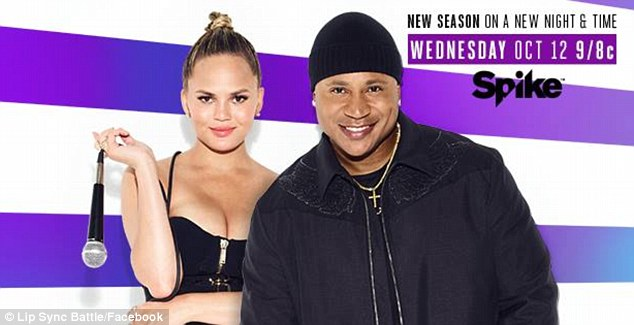 Beat it! Teigen will continue to provide 'color commentary' for the third season of Lip Sync Battle, which premieres October 12 on Spike