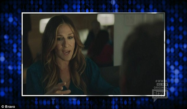 New show: Sarah was promoting her new HBO show Divorce in which she stars and also is an executive producer