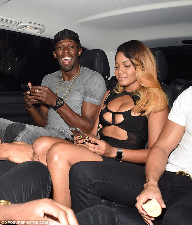 The cheeky Jamaican has found himself at the centre of a series of scandals since his stunning 'triple triple', pictured kissing and dancing with several different women