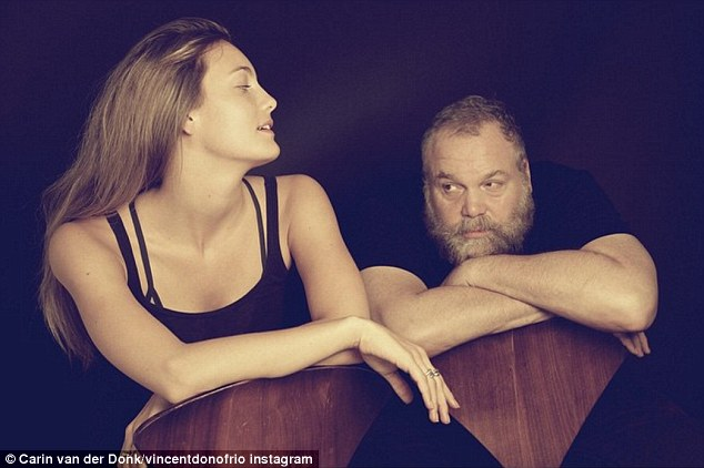 Old enough to be her dad - literally: The Australian actress' father is Law And Order: Criminal Intent star Vincent D'Onofrio