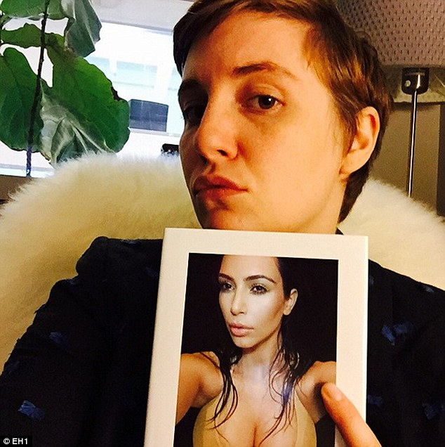 Support system: The 30-year-old Girls creator said she is not friends with Kim, personally, but is worried for her
