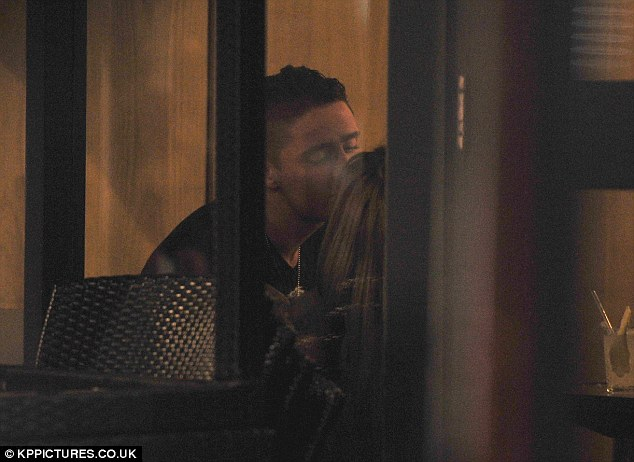 Blossoming romance? They've strenuously denied they're any more than just friends, but the pictures suggest otherwise