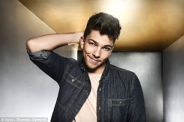 Who does he remind you of? Louis Tomlinson look-a-like Matt Terry was easy-on-the-eye