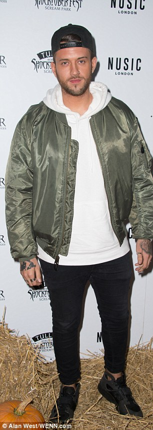 Playing it cool: X Factor hopeful Mike Hough opted for a more urban look
