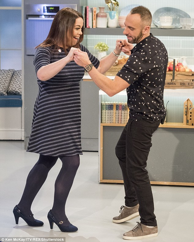 Still stepping: Lisa revealed that she has continued to dance since her 2012 stint on Strictly