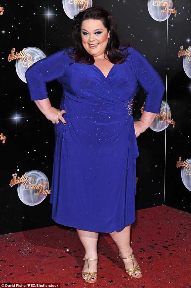 Kick start: Lisa said her stint on Strictly kick-started her metabolism and got her working out