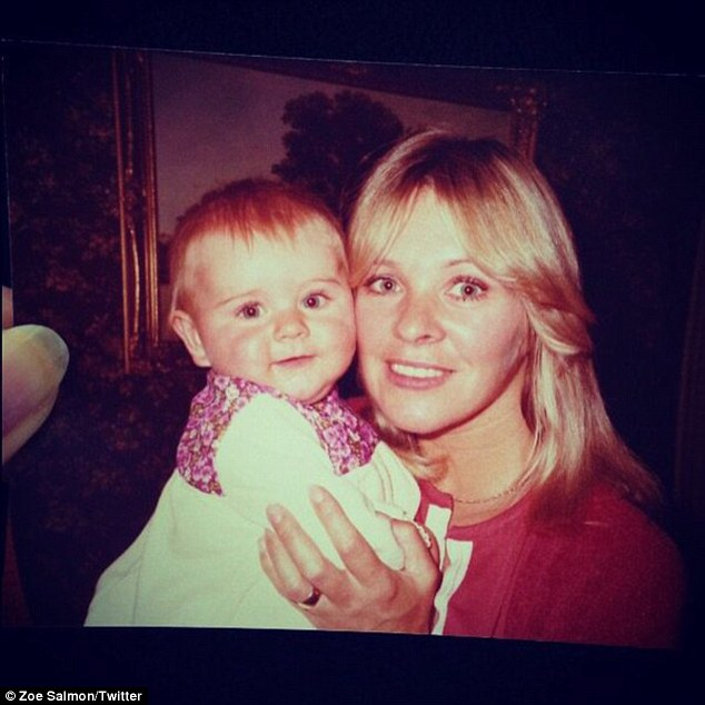 Heartbreaking: The blonde beauty revealed her late mother gave her a bottle of Chanel No5 as her something borrowed ¿ which made her feel like she was there with her on the day