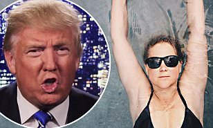 Amy Schumer slams Donald Trump with Instagram joke