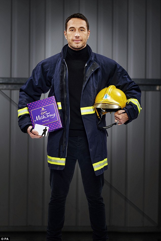 Just like the iconic escapades of the Milk Tray men of the 1960s to the '90s who went to extreme lengths to deliver  chocolates to women, Mr McBride embarks on a similar mission
