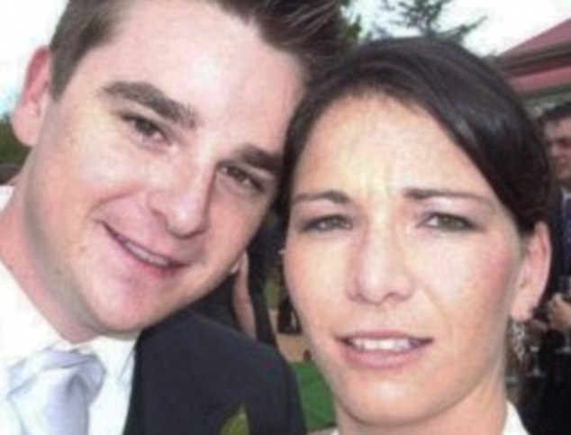 Leah Mouatt, 34, (Right) with her former 33-year-old husband Phillip John Vellio, (Left)