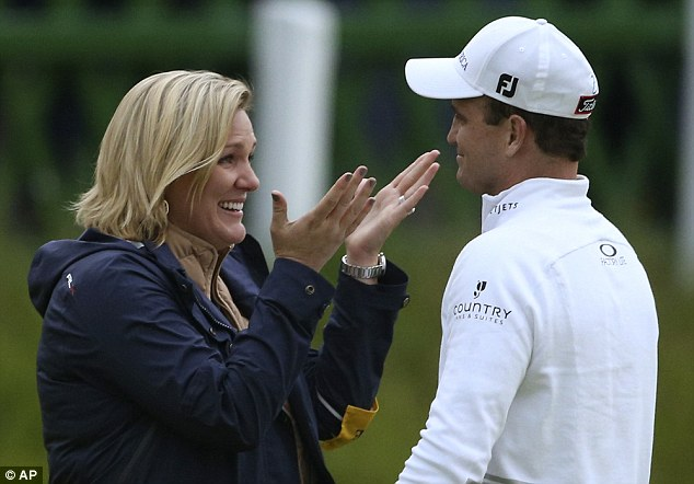 Golf commentator Peter Alliss sparked a sexism row with his comments about Open Winner Zach Johnson's wife Kim Barclay