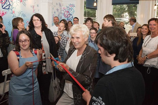 Julie Walters helped officially launch thesocial enterprise charity project Team Domenica