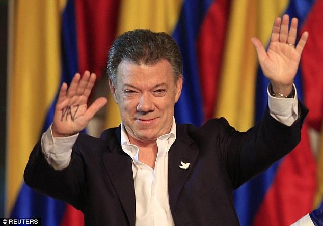 Colombian President Juan Manuel Santos has won the Nobel Peace Prize